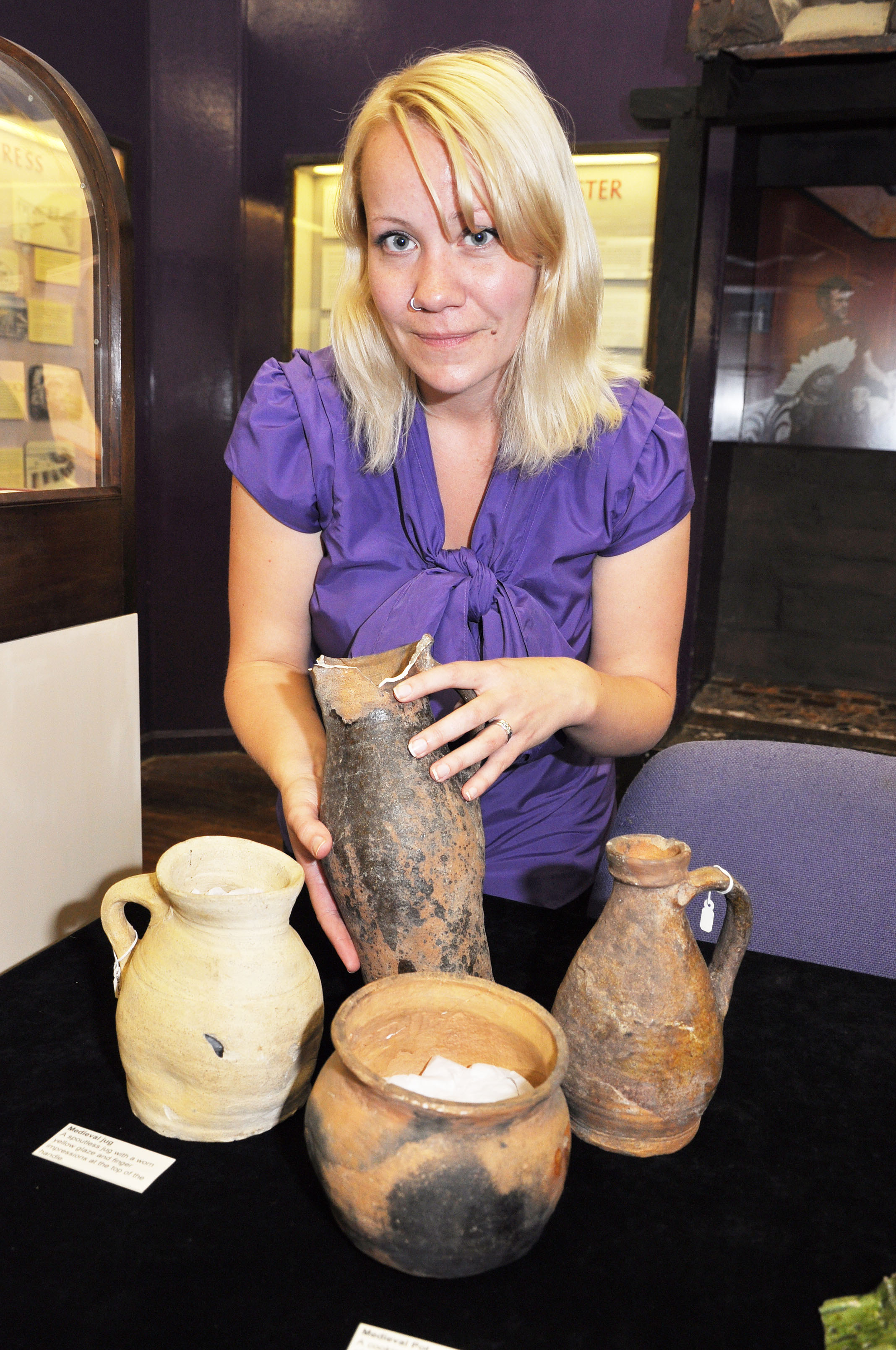 A Curator at Grosvenor Museum